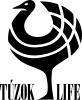 TúzokLIFE magyar monokróm projektlogó