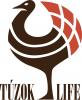 TúzokLIFE magyar (barna) projektlogó