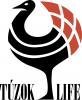 TúzokLIFE magyar (fekete) projektlogó